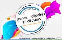 Concours national Jeunes, solidaires et citoyens - Année 2021-2022